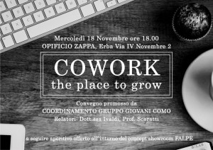 Cowork, the place to grow