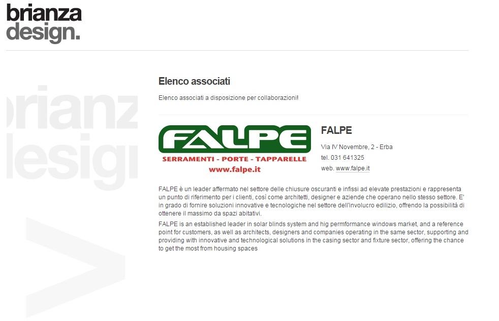 FALPE - Brianza Design