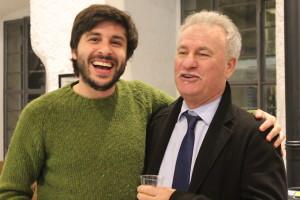 Andrea Molteni - DS con il Mister