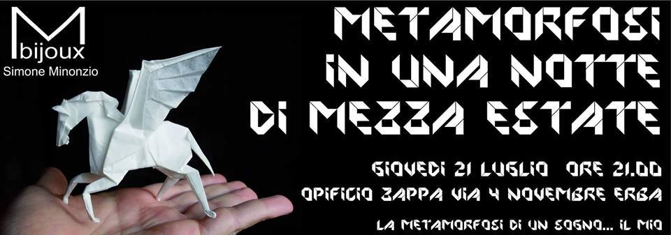 METAMORFOSI in una notte di mezza estate - invito